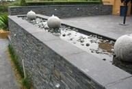 View of waterfeature & Terace