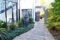 Eaglemont Side Garden & Waterfeature